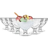 Bormioli Rocco Diamond Ice Cream Bowls - 360ml - Pack of 6