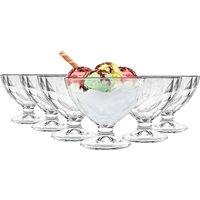 Bormioli Rocco Diamond Stemmed Ice Cream Bowls - 360ml - Pack of 6