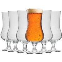 Bormioli Rocco Hurricane Beer Glasses - 500ml - Pack of 6