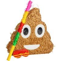 Poop Emoji Pinata Party Set - By Fax Potato