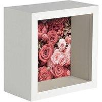 "3D Deep Box Photo Frame - 4 x 4"" - By Nicola Spring"