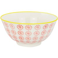 Hand Printed Cereal Bowl - 16cm - By Nicola Spring