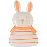 Nicola Spring Easter Bunny Plate - 17cm - White