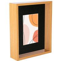 Nicola Spring 3D Deep Box Photo Frame - 8 x 10