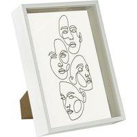 3D Deep Box Photo Frame - A4 (8 x 12