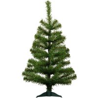'Harbour Housewares 2ft Artificial Pine Christmas Tree - Green