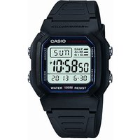 casio gents sports gear alarm chronograph black watch