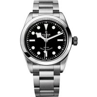 tudor gents heritage black bay 36mm automatic watch