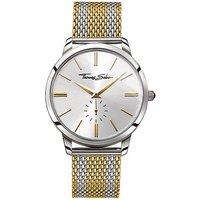thomas sabo mens rebel spirt gold dial strip watch