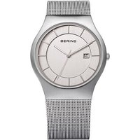 bering gents classic 38mm mesh bracelet watch
