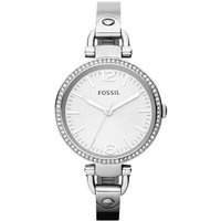 fossil ladies georgia round watch