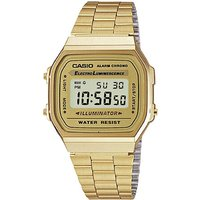 casio classic retro gold watch