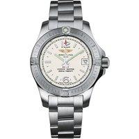 breitling colt lady quartz white dial watch