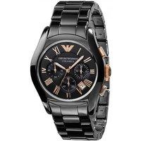 Emporio Armani AR1410 Men's Valente Ceramica Ceramic Chronograph Watch