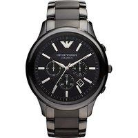 Emporio Armani Ar1451 Men's Ceramica Ceramic Chronograph Watch