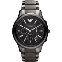 Emporio Armani Ar1452 Men's Ceramica Ceramic Chronograph Watch