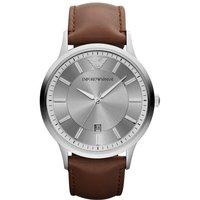 Emporio Armani Ar2463 Mens Renato Grey Brown Watch