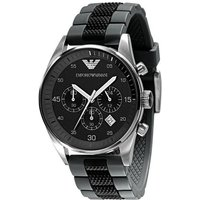 Emporio Armani Ar5866 Men's Black Chronograph Watch