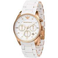 Emporio Armani Ar5920 Ladies Tazio Chronograph Watch