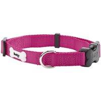 Middlewood Nylon Dog Collar  Pink   Small