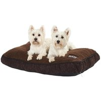 Snooze Fleece Dog Pet Bed, Large