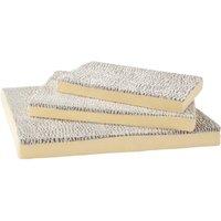Bunty Ultra Soft Fur Washable Dog Pet Mattress Basket Bed Cushion Fleece Pillow, Cream / Small