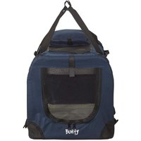 Bunty Fabric Pet Carrier  Dark Blue   Large