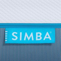 Simba Hybrid Mattress Cover - Double: 135 x 190 cm