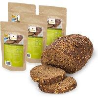 Lizza Brot » Low Carb » 250g Backmischung » ergibt 450g Brot (glutenfrei & viel Eiweiß) » 4 Stück