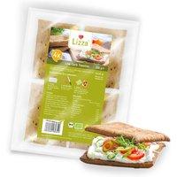 Lizza Toasties » Low Carb » 4 Stück à 50g (94% weniger Kohlenhydrate als herkömmlicher Weizen-Toast) » 1 Pack