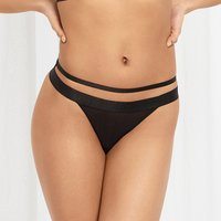 Bree Thong Black