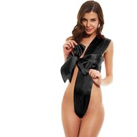 All Wrapped Up Body Bow Black