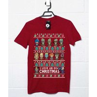 80s Cartoon Christmas T Shirt
