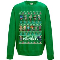 80s Cartoon Christmas Sweatshirt