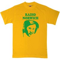 Alan Partridge T Shirt - Alan Face Radio Norwich