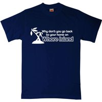 Anchorman Whore Island T Shirt