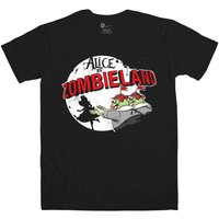 Alice In Wonderland Inspired T Shirt - Alice In Zombieland