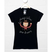 Always Follow Your Dreams Womens T-shirt
