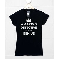 Amazing Detective Slash Genius Womens T-shirt