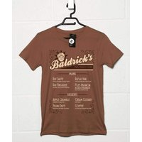 Sale Item - BaldrickS Trench Cuisine T Shirt Brown / Small