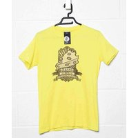 Sale Item - Inspired By Monty Python MenS T Shirt - Cheese Makers - Yellow Haze - Small