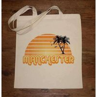 City Sunset Manchester Tote Bag