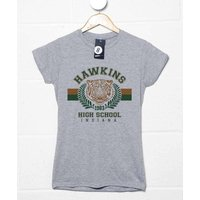 Hawkins High School Womens Fitted T Shirt