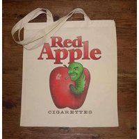 Red Apple Cigarettes Tote Bag