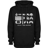 Select Your Weapon - Game Controllers Hoodie or Sweatshirt