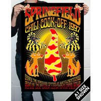 Springfield Chili Cook Off Poster