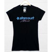 Starcourt Mall Womens Fitted T Shirt