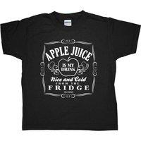 Apple Juice Is My Drink Kids T Shirt
