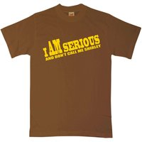 Airplane T Shirt - I Am Serious