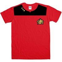 Fancy Dress T Shirt - Star Trek Uniform